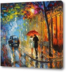 Картина Сентябрьский дождь