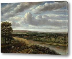 Картина Обширный лесной пейзаж