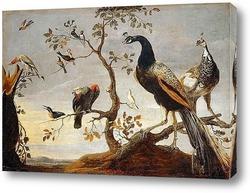 Картина Птичье собрание
