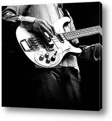 Постер Гитара на площади