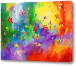 Картина Любовь цветов