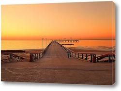 Постер Мост в море в Паланге