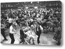 """Rockettes"" перед турне по Америке.1945г."