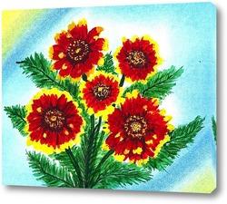 Картина Солнечные цветы