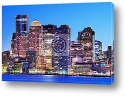 Постер Boston Financial District