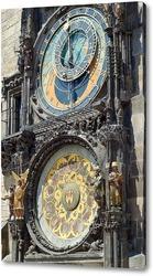 Постер Городские часы в Праге