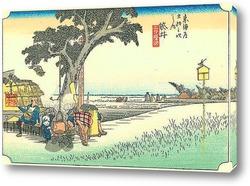 Картина 27-я станция: Фукурои.