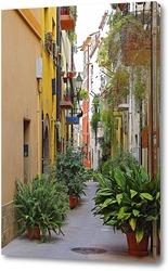 Постер Старые улочки европейских городов