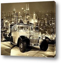 Постер Vintage car