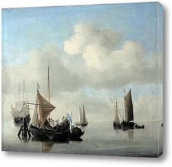 Картина Корабли в штиль