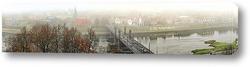 Постер панорама города Каунас