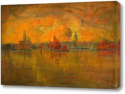 Картина Венеция с моря