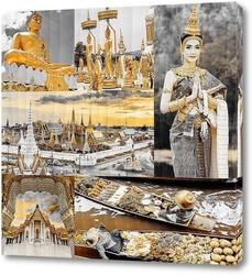 Постер Бангкок. Таиланд