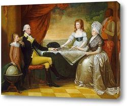 Картина Семья Вашингтона