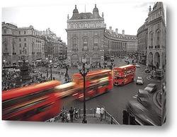 Красные телефонные будки, Лондон, Великобритания.