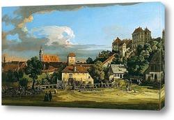Вид Пирны из замка Зонненштайн