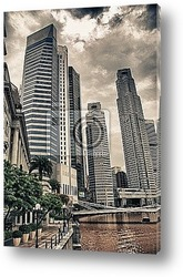 Постер Buildings of Singapore