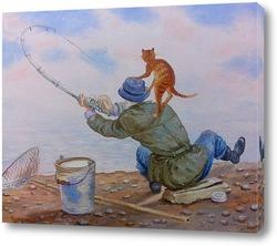 Картина Ловись, рыбка