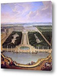 Картина Фонтан дракона и Нептуна в Версале