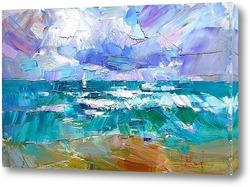Картина Море волнуется раз...