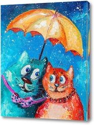 Постер Двое под одним зонтом