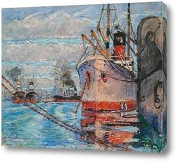Постер Порт Марсель, 1921