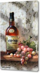 Картина Розовый виноград