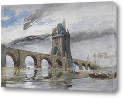 Картина Мост на Рейне