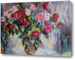 Картина Весенние розы