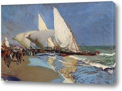 Валенсия Пляж: Лунный свет, 1908