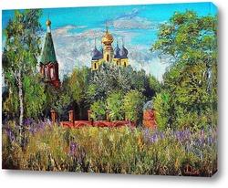 Картина Село горицы