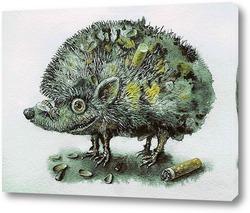 Картина Помойный ёжик