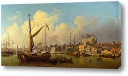 Картина Лондонская башня, День рождения короля Артура