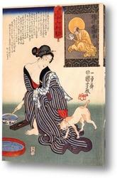 Хасебе Нобутсура в нападении Таира  на дворец такакура