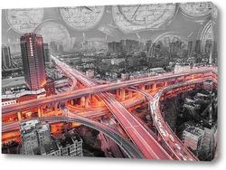 Постер шоссе в Ханчжоу