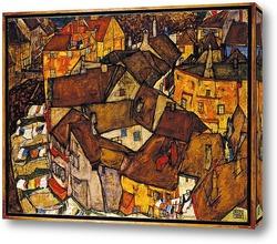 Постер Полумесяц Домов (маленький Город V)