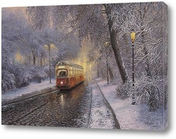 Картина Городской трамвай...