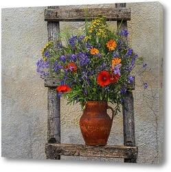 Маленький букет цветов