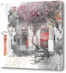 Постер Остров Миконос,Греция