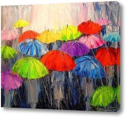Постер Утренний дождь