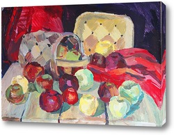 Картина Яблочки