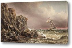 Картина Море и скалы