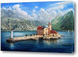Картина Монастырь в Черногории
