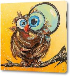 Картина Учёная сова