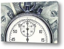 Постер Время - деньги
