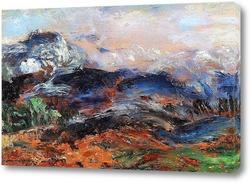 Картина Холмистый ландшафт