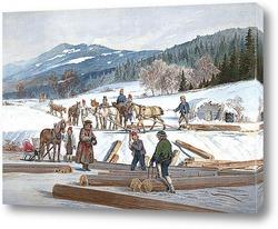 Долина Romsdalen, 1857
