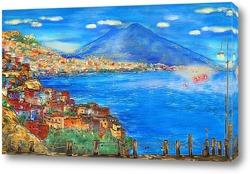 Картина Неаполь сегодня