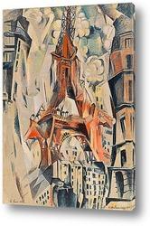 Картина Эйфелева башня