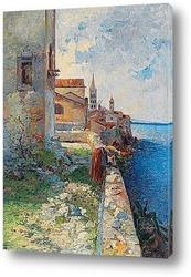 Постер На побережье Истрии